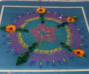 Rangoli: kolam entry - 3