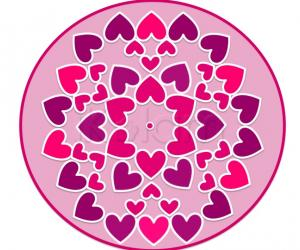 Rangoli: Valentine 2010