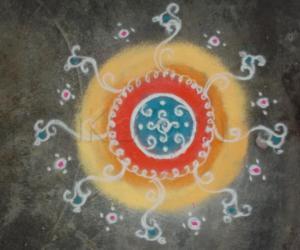Rangoli: Dussera 2010