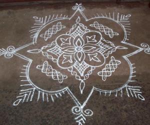 Gopura Kolam