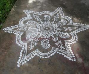 Rangoli: Mehendi Design copied