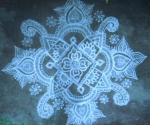 Embroidery kolam