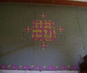 Small Colorful Rangoli