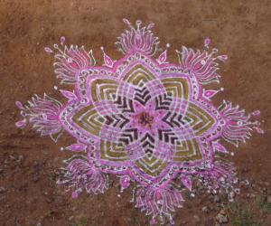 Rangoli: tamil new year special