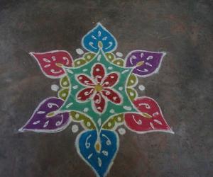 Rangoli: Color kolam