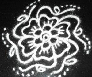 Rangoli: Spring Garden Kolams - Wild Flowers