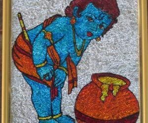 Rangoli: Gokul Krishna