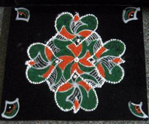 Rangoli: I love my India