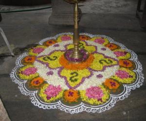 Rangoli: Pookkalam
