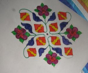 Rangoli: For our garden