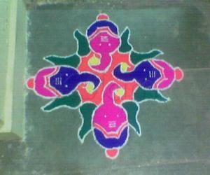 Ganesh Chaturthi Kolam