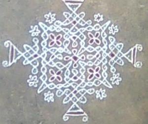 Gantu Rangoli (Sikku Kolam)