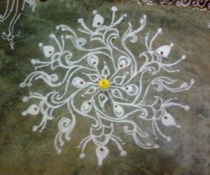Rangoli: Ganesh Chaturthi 2009