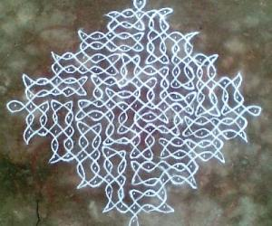 Rangoli: Sikku Kolam - 22