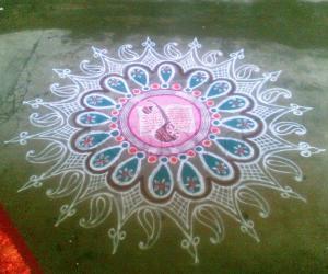 Rangoli: Navarathri Special - IX
