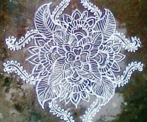 Free Hand Kolam