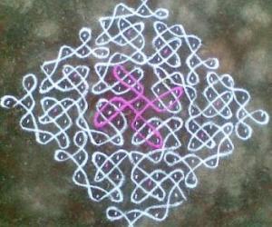 Rangoli: Sikku Kolam - 44