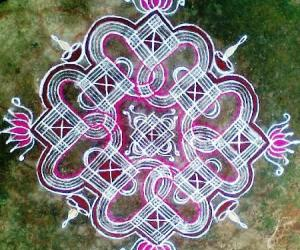 Rangoli: Navarathri Special Kolam