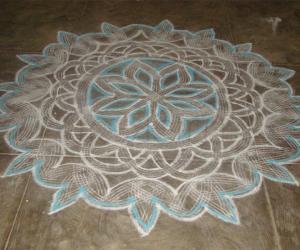 Rangoli: Inspiration kolam