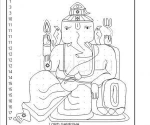 Rangoli: Lord ganesha