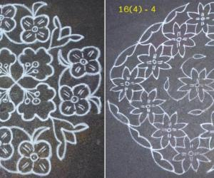 Advanced pookolam