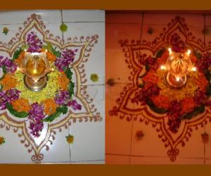 Pookalam for Onam