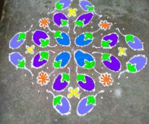 Rangoli: brinjals anyone?