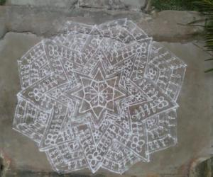 Rangoli: My first upload