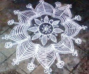 rangoli without dots