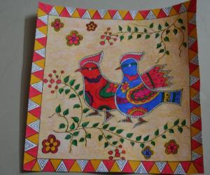Madhubani Birds