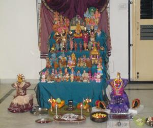Navaratri  decoration 2010