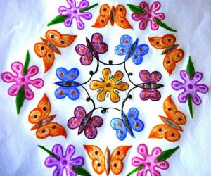 Rangoli: Butterfly School