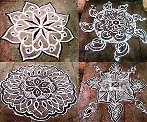 TUESDAY KOLAMS COLLAGE