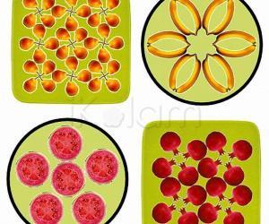 Rangoli: Fruits for Veggie patch