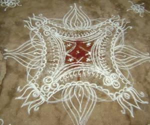 Marriage kolam