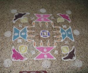 Rangoli: Judy's Lamps