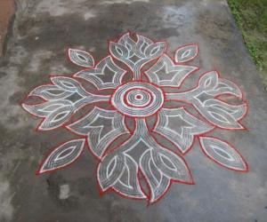 Rangoli: Quick kuzhal kolam