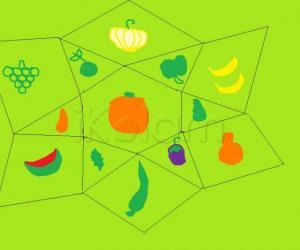 Fruits and veggies for the ikolam garden