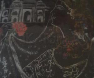 Rangoli: Line Drawing