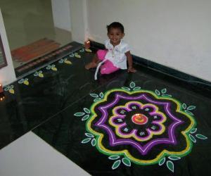 My Diwali Rangoli