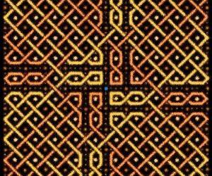 Rangoli: A rangOli with 10 x 10 dots