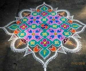 Rangoli: Vaikunta Ekadasi