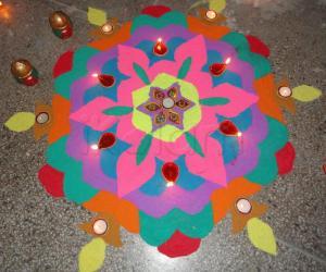 Diwali Rangoli 2010 - contest