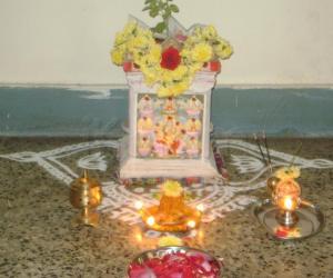 Rangoli: Tulasi Kalyanam