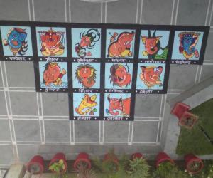 Rangoli: zodiac ganesha - contest