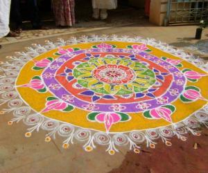 Diwali Rangoli 2010