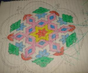 rangoli from my notes