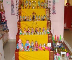 Rangoli: NAVRATRI GOLU CONTEST - 2010