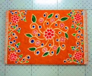 Carpet rangoli