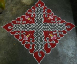 Rangoli: Sikku Kolam - 56